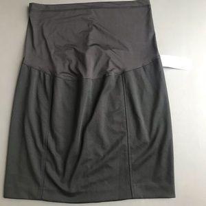Liz Lange Black Pencil Skirt, Maternity XL NWT
